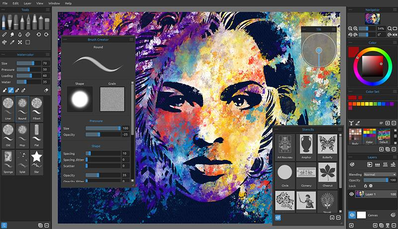Rebelle 3: Best free drawing software