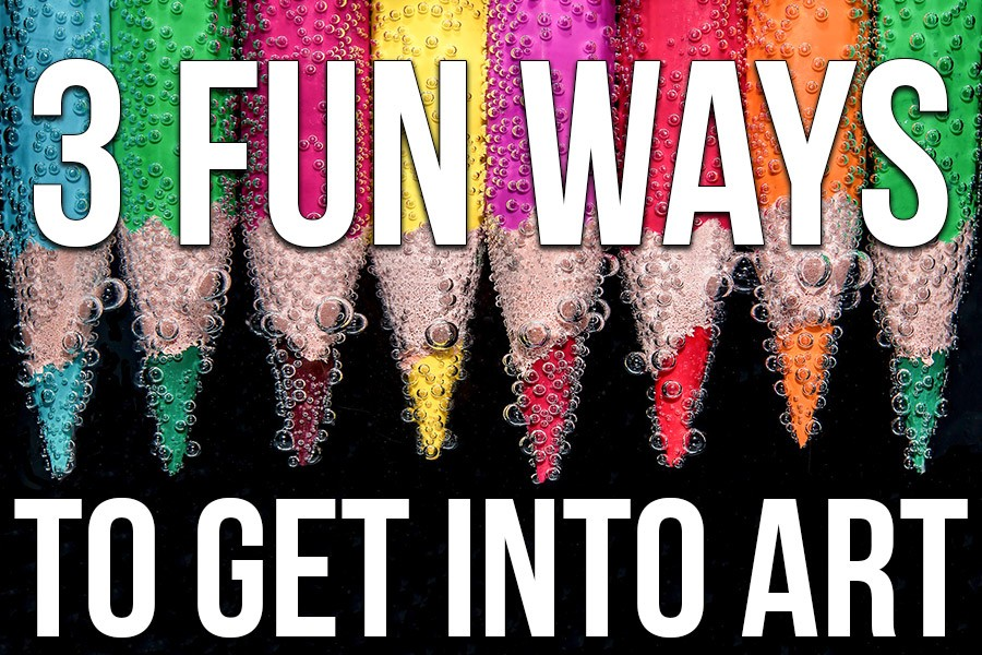 3 Fun Ways To Get Into Art