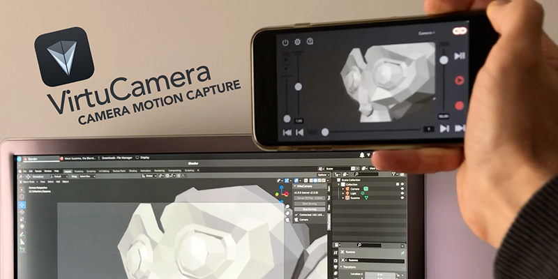 VirtuCamera for Blender