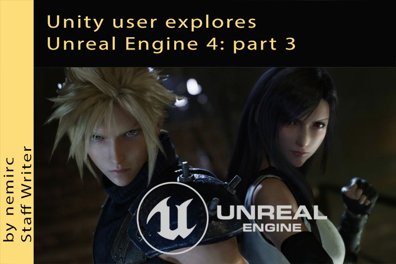 Unity user explores Unreal Engine 4 title card