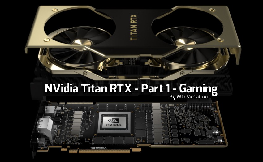 NVIDIA Titan RTX Video Card