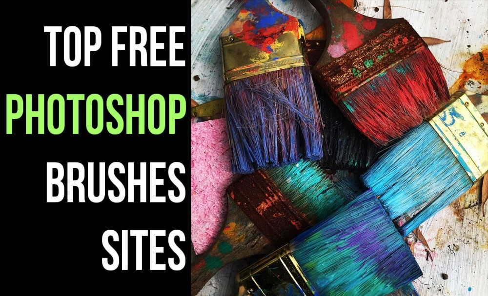 Top Free Photoshop Brushes Sites