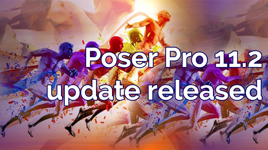 Poser Pro 11.2 update released