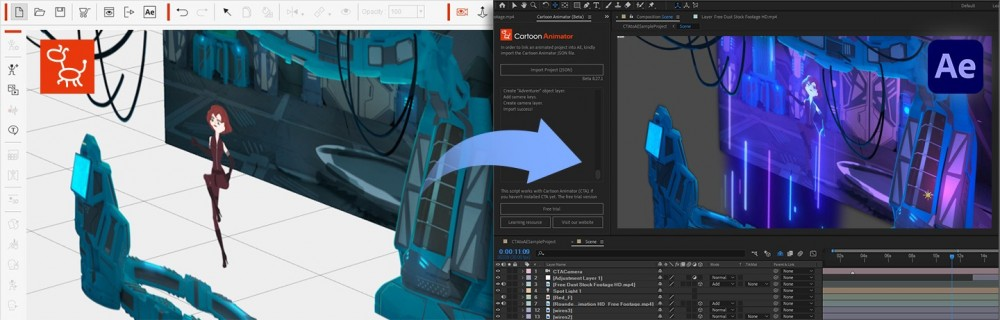 Cartoon Animator 4 Releases New Update For After Effect Production Renderosity Magazine