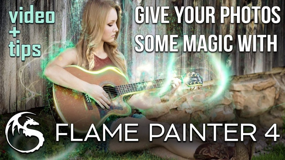 Give Your Photos Some Magic with Flame Painter 4