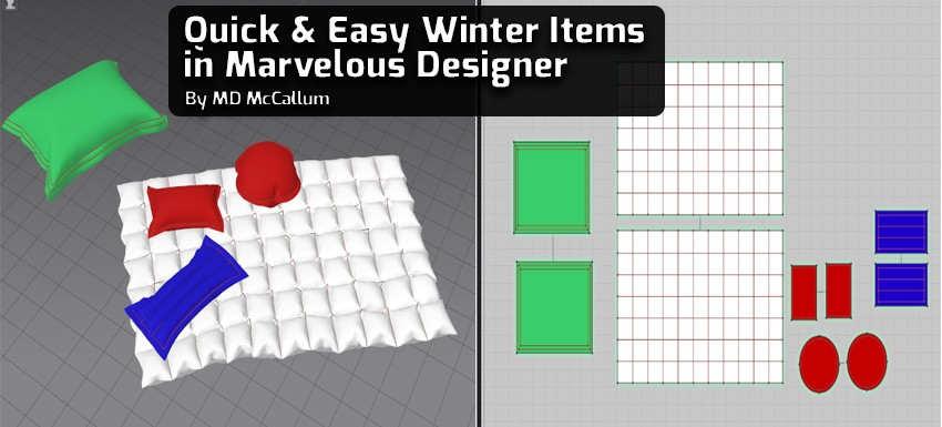 Quick & Easy Winter Items in Marvelous Designer
