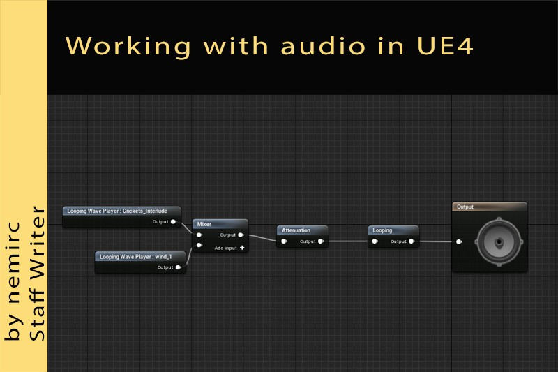 Working with audio in Unreal Engine 4