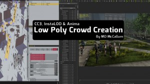 Low Poly Crowd Creation