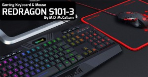 Redragon S-101 Gaming Keyboard and Mouse