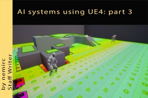 AI systems using Unreal Engine 4