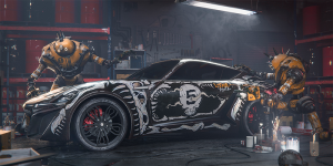 Allegorithmic X-TAON Art Car Contest
