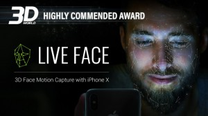 iPhone X Face Mocap LIVE FACE for iClone