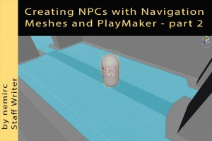 Using PlayMaker to make an NPC