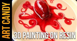 Art Candy: 3D Layered Painting On Resin