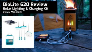 BioLite 620 - Solar Lighting and Device Charging Kit