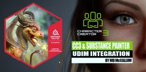 CC3 and Substance Painter UDIM Integration