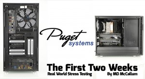 Puget Systems Workstation