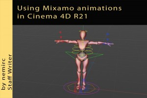 Mixamo animations in Cinema 4D R21