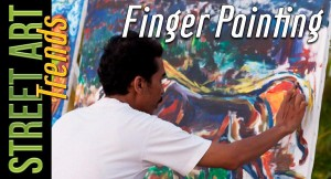 Street Art Trends: Finger Painting