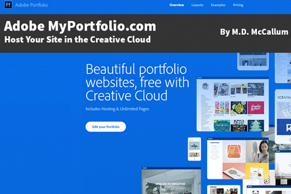A review of Adobe MyPortfolio.com