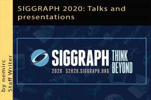 SIGGRAPH 2020: Talks and presentations
