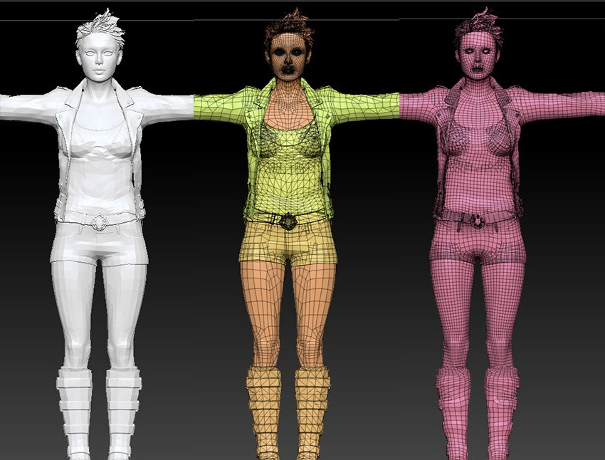 Clean up Mesh