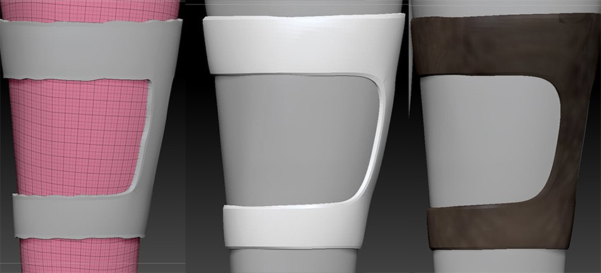 Extract, Smooth, UV Map and Texture